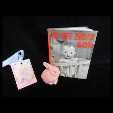 "Vintage ""MINT"" Effanbee Dy-Dee Doll's Day's Book"
