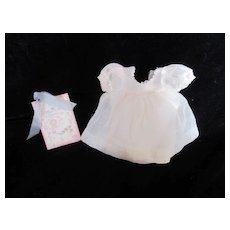 "Vintage Effanbee Dy-Dee Doll Pink Organdy Dress & Slip for your 11"" Doll"
