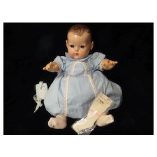 "Vintage ""RARE"" ""MINT"" Effanbee Dy-Dee Doll Lou Dress & Rayon Socks for 20"" Doll"