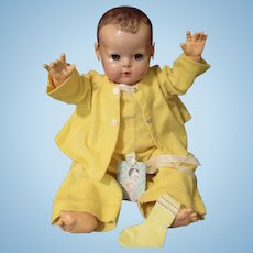"""Vintage""""RARE"""" Effanbee Dy-Dee Doll Lou Crawler Set & Socks for your 20"""" Doll"""