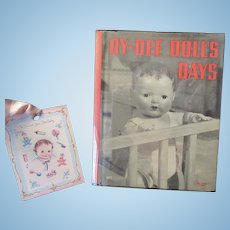 Vintage Effanbee Dy-Dee Doll Day's Book