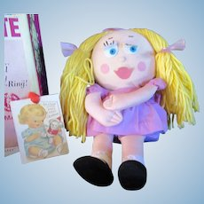 Vintage 1963 Near MINT Mattel Shrinkin Violette Box  - SHE STILL TALKS- All phrases clearly