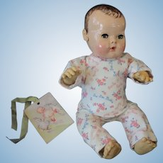 """Vintage """"MINT"""" Effanbee Dy-Dee doll pajamas for your 15"""" Doll"""