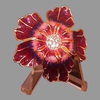 Estee Lauder Solid Perfume Compact, Hibiscus Form