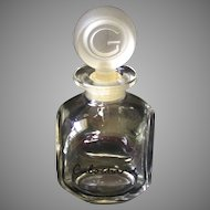 "Vintage ""Cabochard"" Perfume Bottle circa 1959-1960"