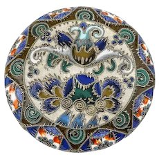Antique Russian silver 88 cloisonne enamel snuff box by Feodor Ruckert, circa 1908