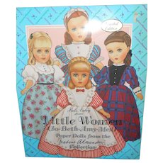 Madame Alexander's Little Women's Paper Dolls 1993