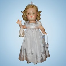 "Madame Alexander's ""1937 Princess Elizabeth""  17"" Doll"