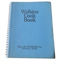 Watkins Cook Book, 1938 Edition