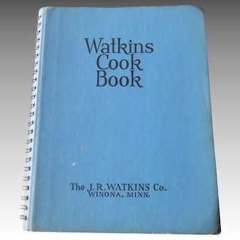 Watkins Cook Book, 1938 Edition