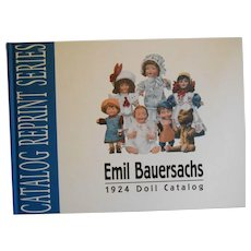 Emil Bauersachs, 1924 Doll Catalog, Reprint Series