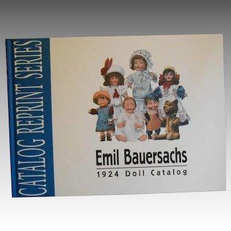 Emil Bauersachs, 1924 Doll Catalog, Reprint Series