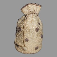 1920's Beaded bag/purse For Large French or German Bisque Doll