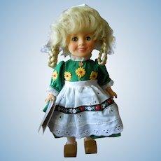 "Ideal's 1982 8"" Shirley Temple Doll, Heidi"