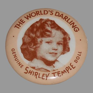 Shirley Temple Pin