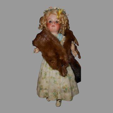 Fox Fur Stole For Dolls                                                                                                                                       .                                                                                   .  .