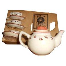 1999 Boyds Collection, Caitlin's Mini Tea Set