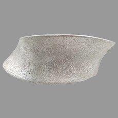 Modern Cuff, Sterling Silver, Vintage, Cuff Bracelet, Contemporary, Constellation, Asymmetrical, Designer, Charles Garnier, Unique