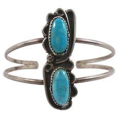Turquoise Bracelet, Sterling Silver, Cuff Bracelet, Vintage Bracelet, Boho Jewelry, Bohemian, Big Statement, Gypsy, Native American, Country