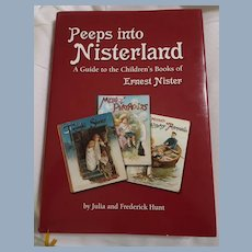 """Peeps Into Nisterland"", A Guide to the Children's Books of Ernest Nister Rare Hard To Find Signed Copy FREE USA SHIP"