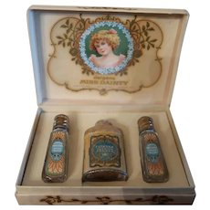 Boxed Jergens Miss Dainty Cologne/Powder For Children/Vintage Dolls Accessory