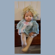 1942 Effanbee Little Sister Doll 12""