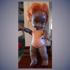 Furga Italian Black Vitiligo Skin Disorder Italian Doll Free USA SHIP