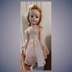 Beautiful Hard Plastic Unmarked (Sweet Sue) Doll