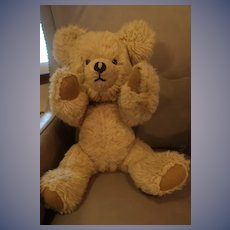 """Large 21"""" Vintage Teddy Bear Fully Jointed"""