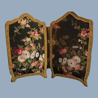 French Antique Screen Folder