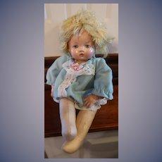 "1942 12"" Effanbee Little Sister/Baby Sister"