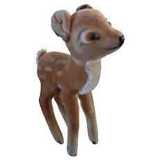 Disney Steiff Vintage Bambi With Button Ear