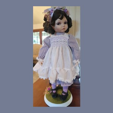 Shy Violet Doll Hamilton Collection Kay McKee