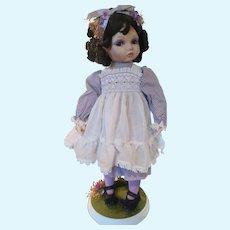 Shy Violet Doll Hamilton Collection Kay McKee