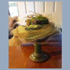 1930's German Baby/Doll Hat Stand Marked  D.R.G.M.