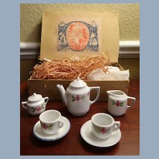 Original Boxed Germany Coffee Set Doll House