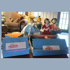 Lot of Four Madame Alexander Doll