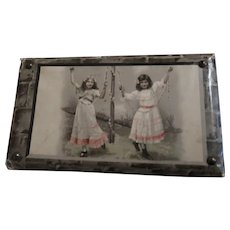 Miniature Sewing Box Children With Tools Maypole