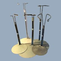 Set Of Five Medium Doll Stands