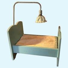 Vintage Pinocchio Doll Bed Straw Mattress