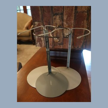 Set of Three Metal Doll Stands For Chubby Dolls