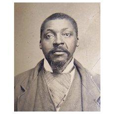 African American Black Man Tintype