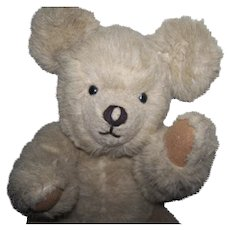 Large Vintage Teddy Bear Fully Jointed