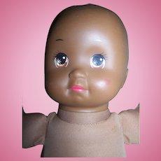 "Vintage 1989 Mattel Black African American 13"" Newborn Doll Free USA Ship"