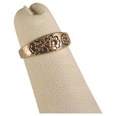 Vintage Sterling Silver Toe Ring