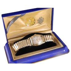 Vintage 1935 -40's Gruen Man's 10 KT Gold Filled Wrist Watch