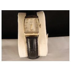 Vintage 1940's to 50's Elgin Deluxe Mans Wrist Watch