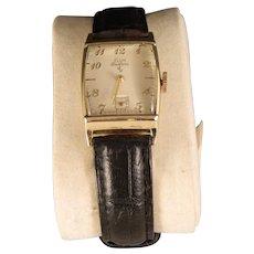 Vintage 1940's to 50's Elgin Deluxe Mans Wrist Watch