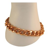 Large Solid Copper Heavy Duty 10 MM 9 Inch Chain Link Bracelet