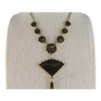 Japanese Kyoto K 24 Damascene Necklace, Earrings and Bracelet  Set Circa 1940s to 1950's.